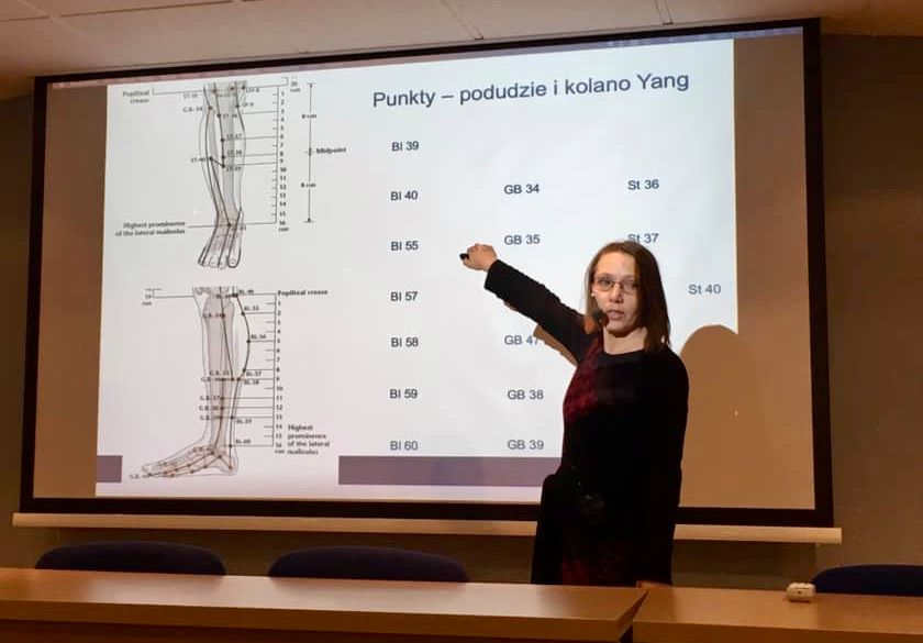 Barbara Wypart - wykłada TCM